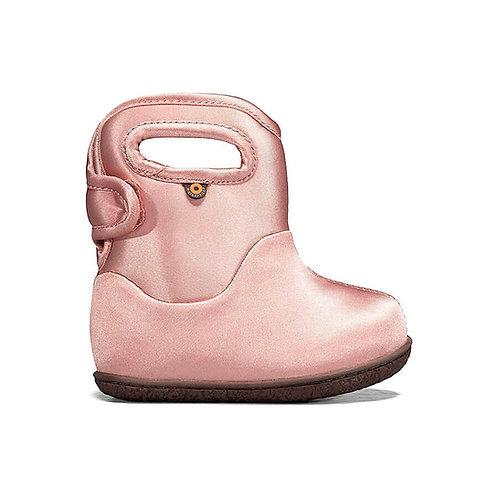 Baby Bogs Metallic, Ballet Pink