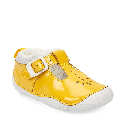 Startrite Baby Bubble Pre-Walkers, Yellow Patent