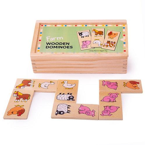 Bigjigs Safari Dominoes