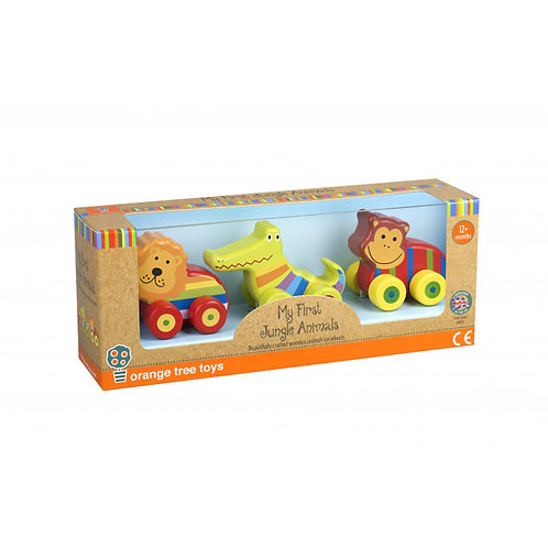 Orange Tree Toys First Jungle Vehicles