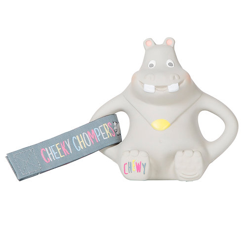 Cheeky Chompers Chewy The Hippo Teether