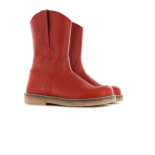 Shoesme CT20W300-A Red Leather Boots