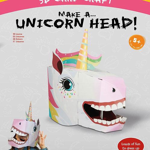 Fiesta Crafts Unicorn 3D Mask Card Craft