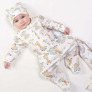 Kite Giraffe & Ele Sleepsuit