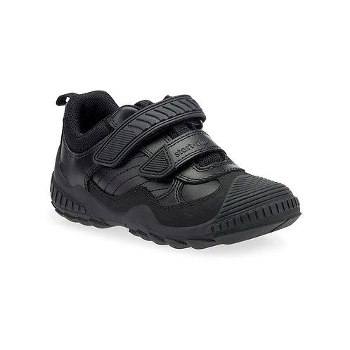 Startrite Extreme Pri Black Leather School Shoe