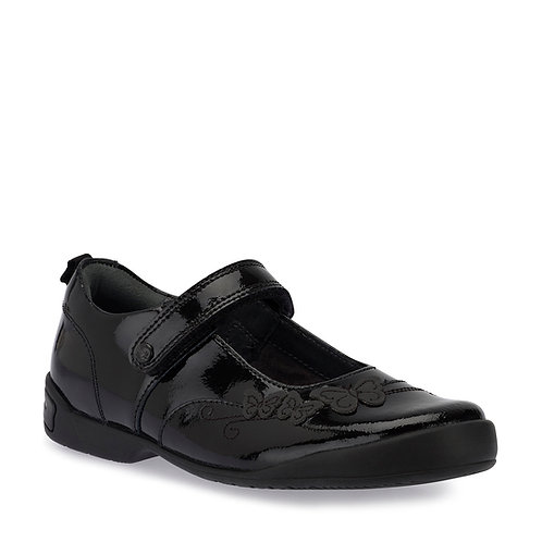Startrite Pump Black Patent School Shoes