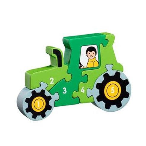 Lanka Kade Tractor 1-5 Jigsaw