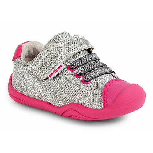 Pediped Grip n Go Jake Trainer, Silver