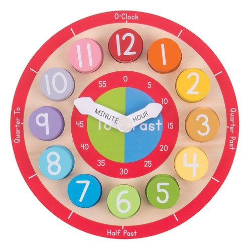 Bigjigs Teaching Clock