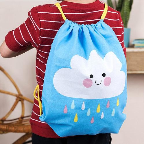 Rex London Happy Cloud Drawstring Bag