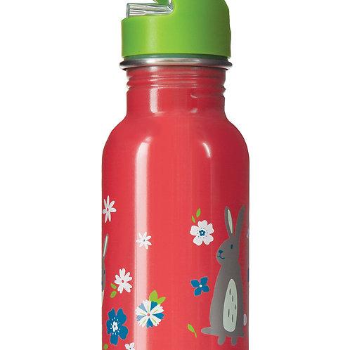 Frugi Splish Splash Steel Bottle, Bunny