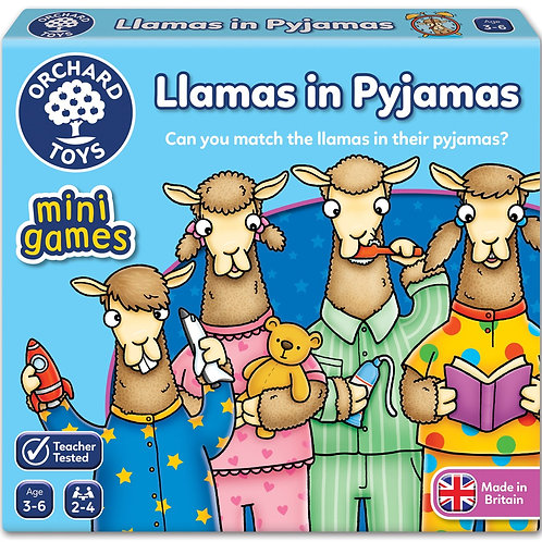 Orchard Toys Mini Game - Llamas in Pyjamas