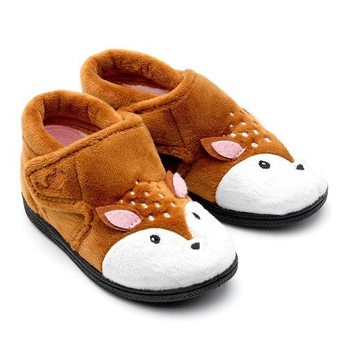 Chipmunks Doey Deer Slippers