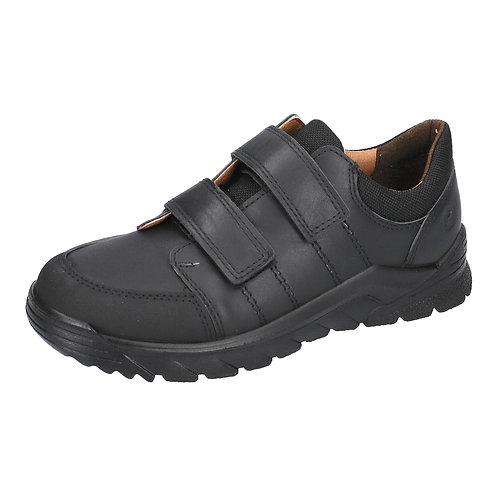 Ricosta Johno Black Leather School Shoe
