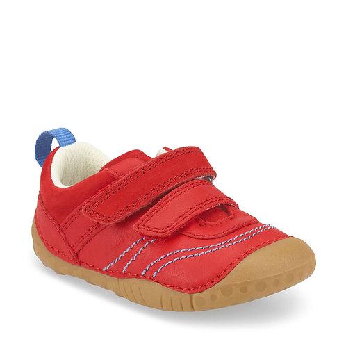 Startrite Baby Leo Pre-walker, Red Leather
