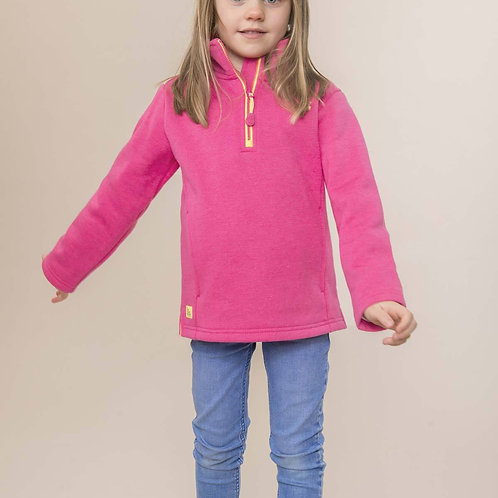 Lighthouse Robyn Sweatshirt, Fuchsia Rose