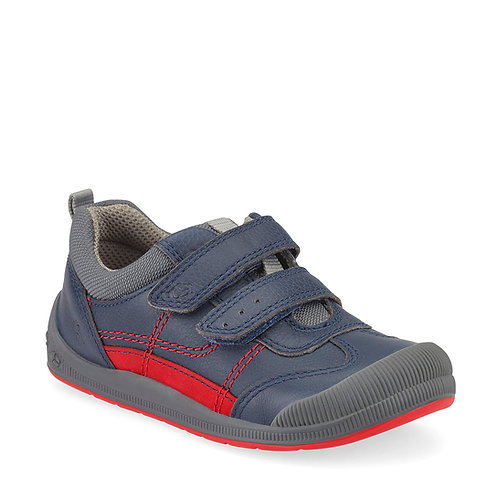 Startrite Tickle, Navy Leather
