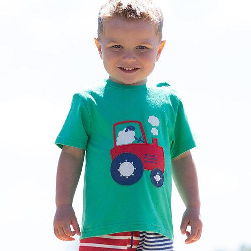 Kite Tractor Time Tshirt