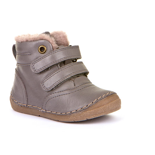 Froddo G211087-11 Fur Lined Ankle Boots,Grey