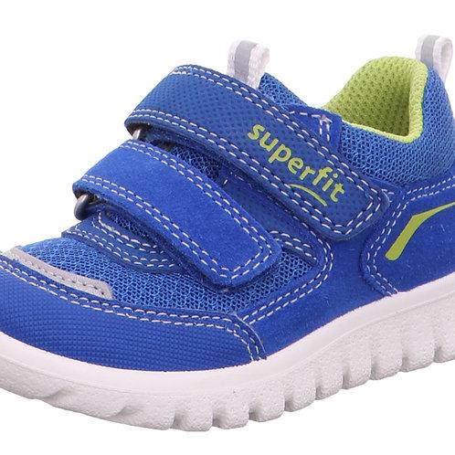 Superfit Sport7 Mini Trainers, Blue/Green