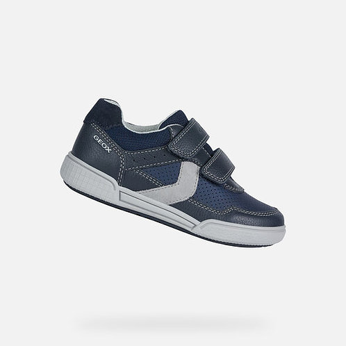 Geox Poseido Navy/grey Trainer