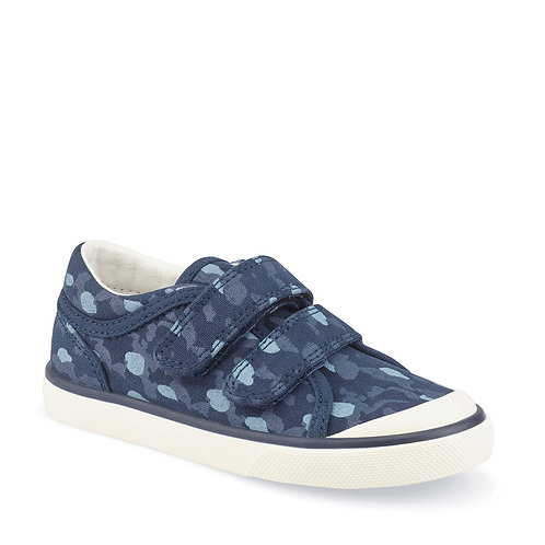 Startrite Bounce Navy Camo Canvas