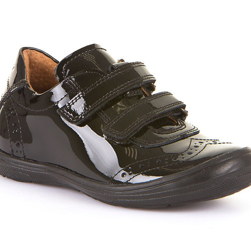 Froddo G3130117-1 Black Patent School Shoes