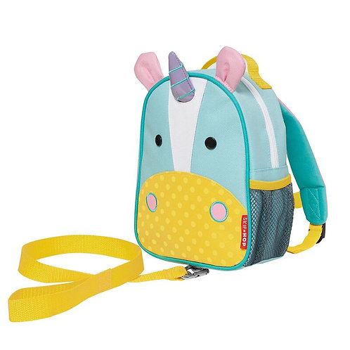 SkipHop Mini Backpack with Reins, Unicorn