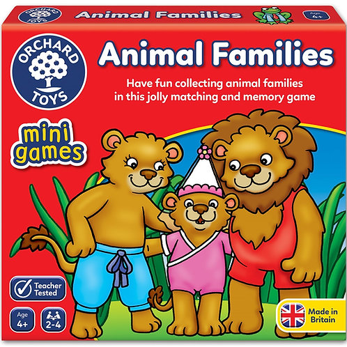 Orchard Toys Mini Game - Animal Families
