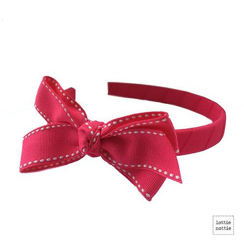 Lottie Nottie Stitch Alice Bland, Bright Pink