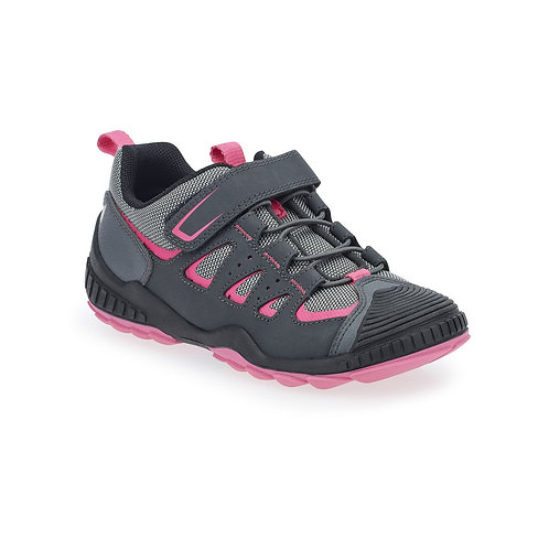 Startrite Charge Trainer, Grey/Pink, 10-3