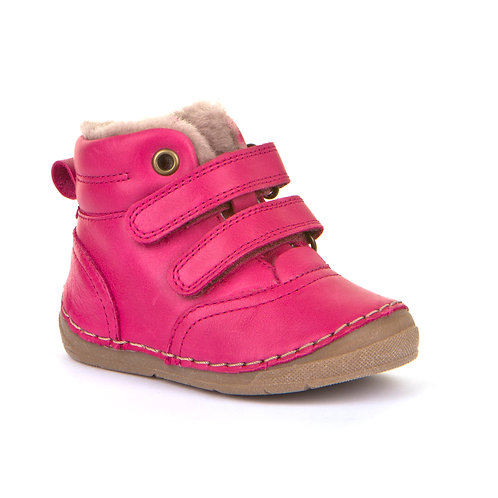 Froddo G211087-11 Fur Lined Ankle Boots, Fuchsia