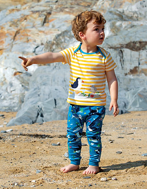 Frugi The National Trust Olly Outfit, Puffin
