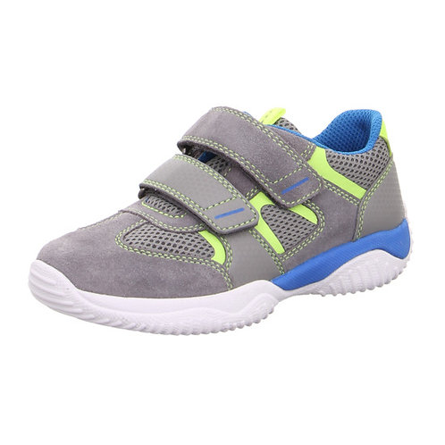 Superfit Storm Trainers, Grey/Green/Blue