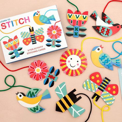 Rex London Cardboard Learn To Stitch Activity
