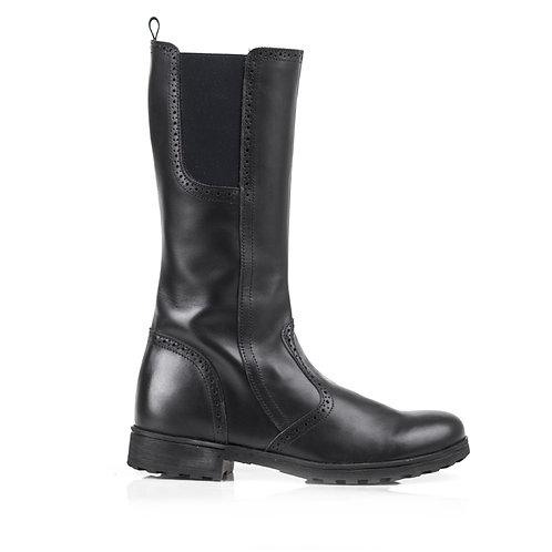 Bobell Omega Boot, Black Leather
