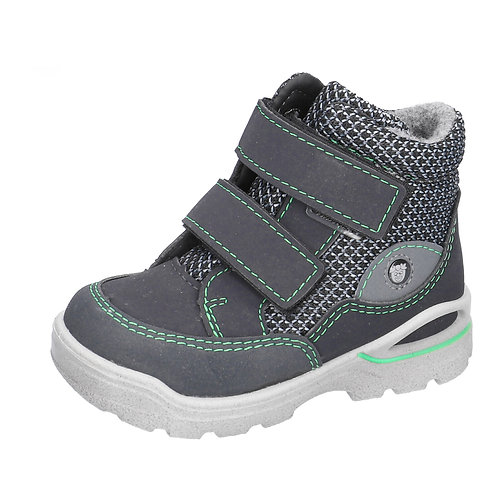 Ricosta Lasse, See/Graphit Waterproof Ankle Boot