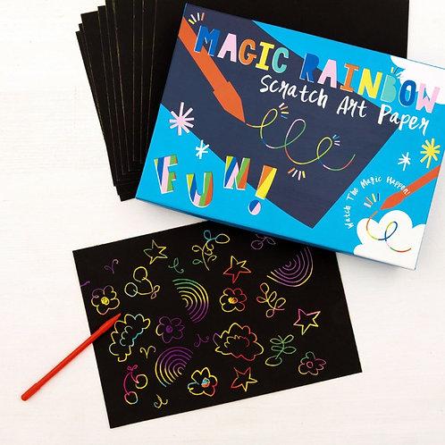 Rex London Rainbow Scratch Art Kit
