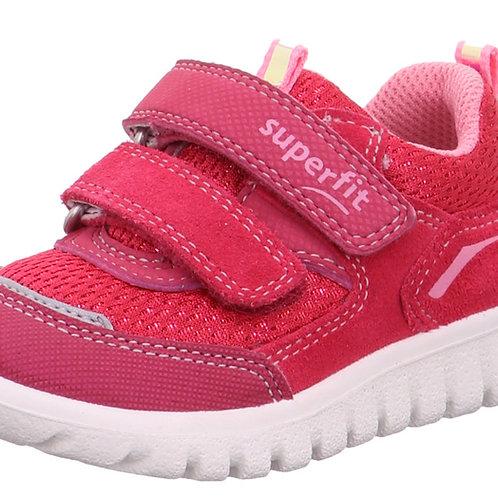Superfit Sport7 Mini Trainers, Red/Pink