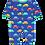 Thumbnail: Toby Tiger Organic Car Print Sleepsuit