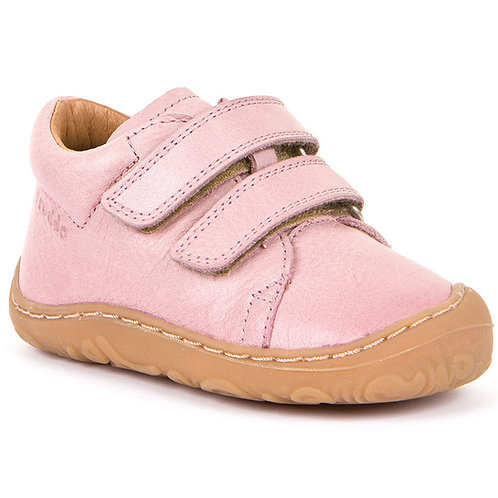 Froddo G2130192-11, 2-Strap Leather Shoe, Pale Pink