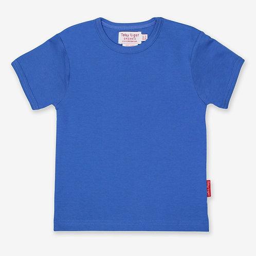 Toby Tiger Organic Basics Tshirt, Blue