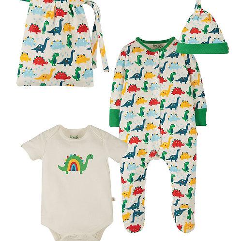 Frugi Rainbow Dinos Gift Set