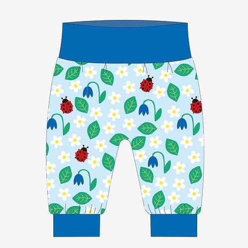 Toby Tiger Organic English Garden Print Yoga Pants