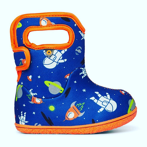 Baby Bogs Space, Blue Multi
