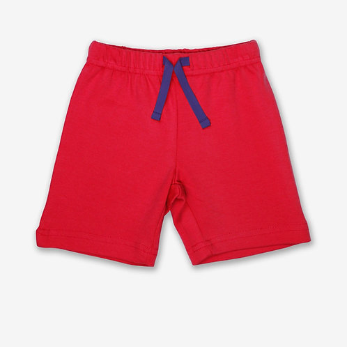 Toby Tiger Organic Shorts, Red