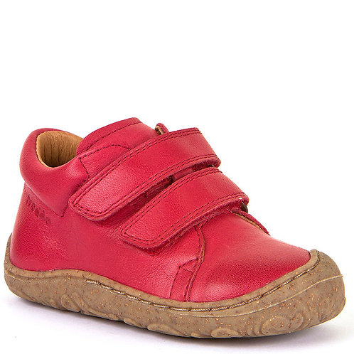 Froddo G2130192-7, 2-Strap Leather Shoe, Red