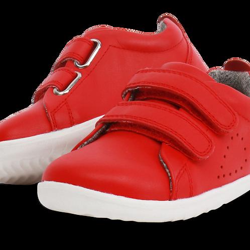Bobux Grasscourt Step Up Red