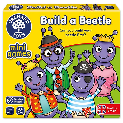 Orchard Toys Mini Game - Build A Beetle