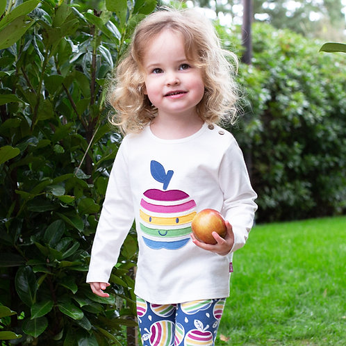 Kite Happy Apple Long Sleeved Tshirt